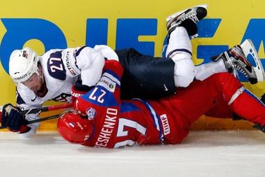 Видео хоккей россия сша смотреть