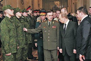 На вооружении у российской армии