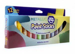 Набор 12 цв. краска-карандаш Paint Sticks metallic